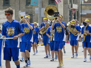Le Sueur-Henderson High School band
