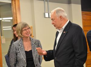 Congressman John Kline-Northfield visit