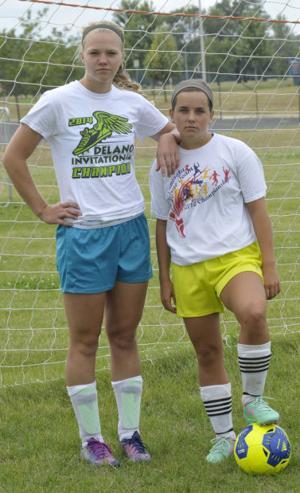 St. Peter girls soccer captains