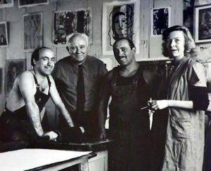 Dehns in Paris studio
