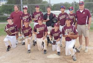NYBA 14/15A travel baseball team qualifies for state