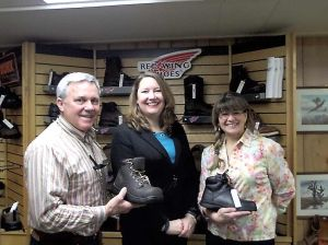Steele County United Way partners with Salvation Army to provide steel toed boots