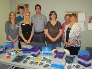 Waseca Family Dentistry donates school supplies
