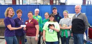 Farm-City Hub Club supports 4-H leadership training