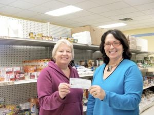Steele County Food Shelf receives donation from area churches