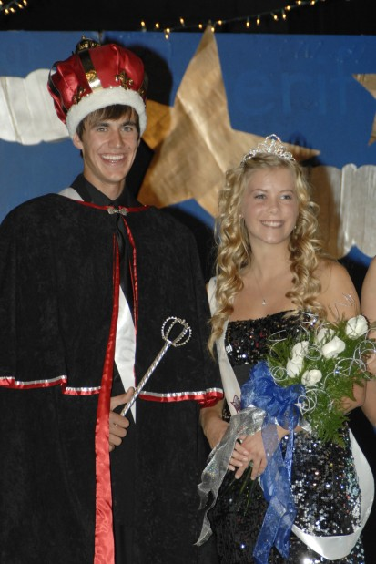 King Marshall Friese and Queen Shari Sahl