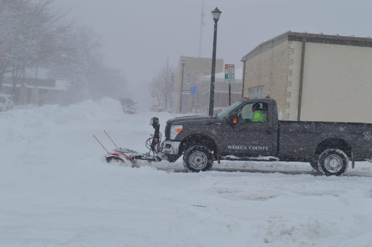 Closings occur across county as area is blanketed in snow