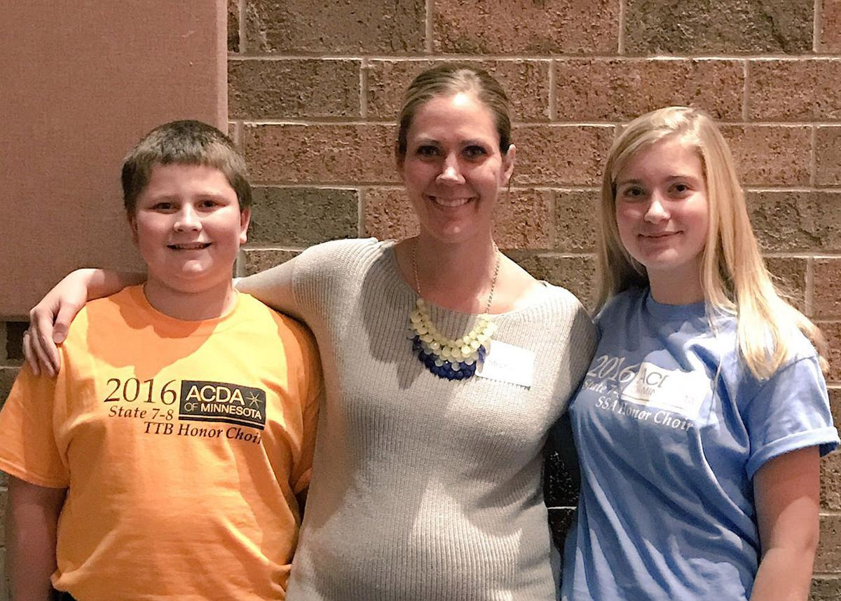 Two K-W students represent at Junior High Honor Choirs