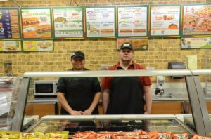 Subway sandwich artists