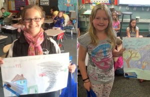St. Peter's 2014 Severe Weather poster contest winners