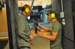 Drive A Tank shooting range