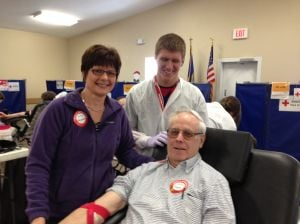 Waseca County man gives the gift of life — 21 gallons worth