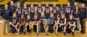 St. Peter boys basketball team