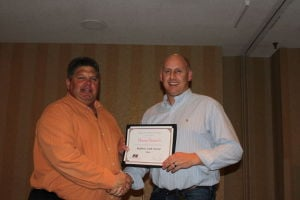 Dufault recognized during Farm Bureau Annual Meeting in Bloomington