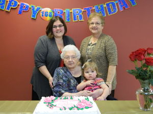 Le Sueur woman celebrates 104th birthday
