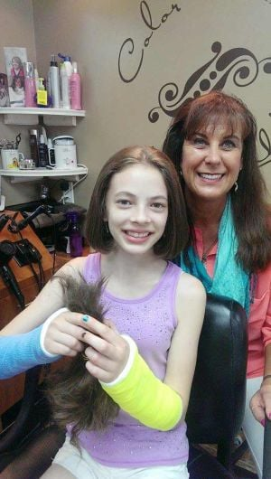 Locks of Love: Isabel Troe of Owatonna