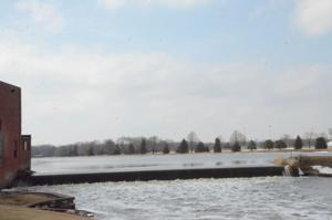Cannon River between Faribo Woolen Mills and Alexander Park