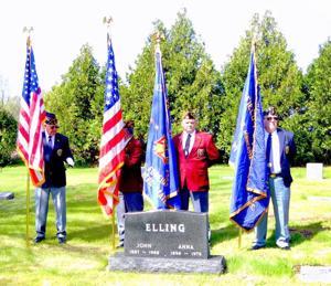 Honoring a veteran