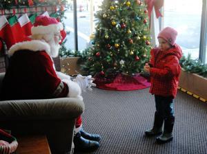 Santa has a visitor 12-1