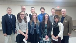Owatonna Elks Club Scholarship Winners