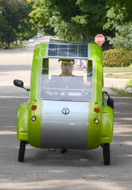 Elf Solar Pedal Trike Latest Addition To Energy Efficient