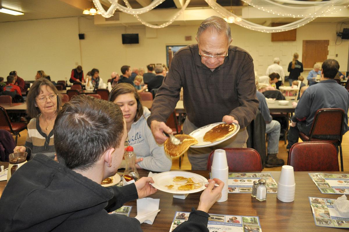 GALLERY: It was steady as she goes at 50th annual Faribault Lions Pancake & Sausage Breakfast