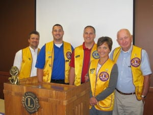Waseca Lions Club leadership for the current year