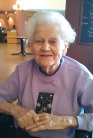 90th birthday Anna Marie Erdman