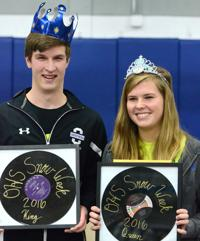 SNOW WEEK: Tucker and Wanous crowned at Friday's coronation