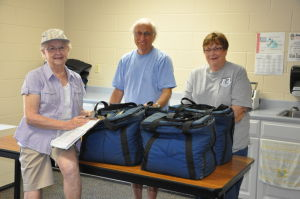 Volunteers find delivery of Meals on Wheels a rewarding experience