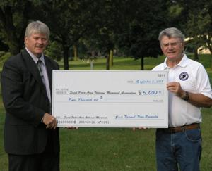 St. Peter Area Veterans Memorial Association nears $100,000 mark