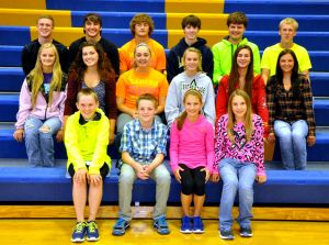 Le Sueur-Henderson Homecoming Court