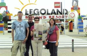 Owatonna People's Press visits Legoland in Denmark
