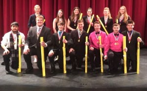 All-Conference speech team