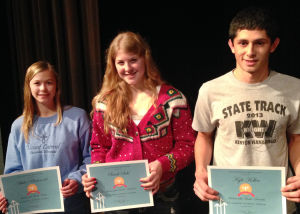K-W Students of the Month, juniors