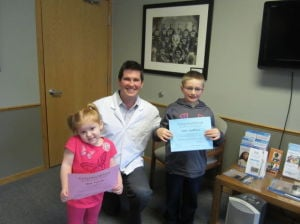 Waseca Family Dentistry's No Cavity Club winners
