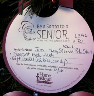 Be a Santa to a Senior-1
