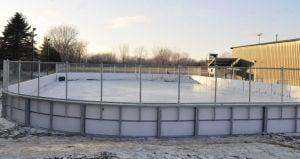 Outdoor rink 12-17