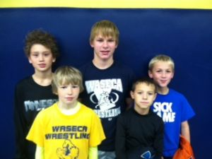 Waseca grapplers attend USA wrestling tourney