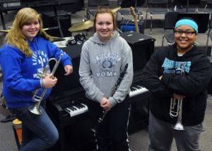 Waseca band students earn perfect scores at local solo/ensemble competition