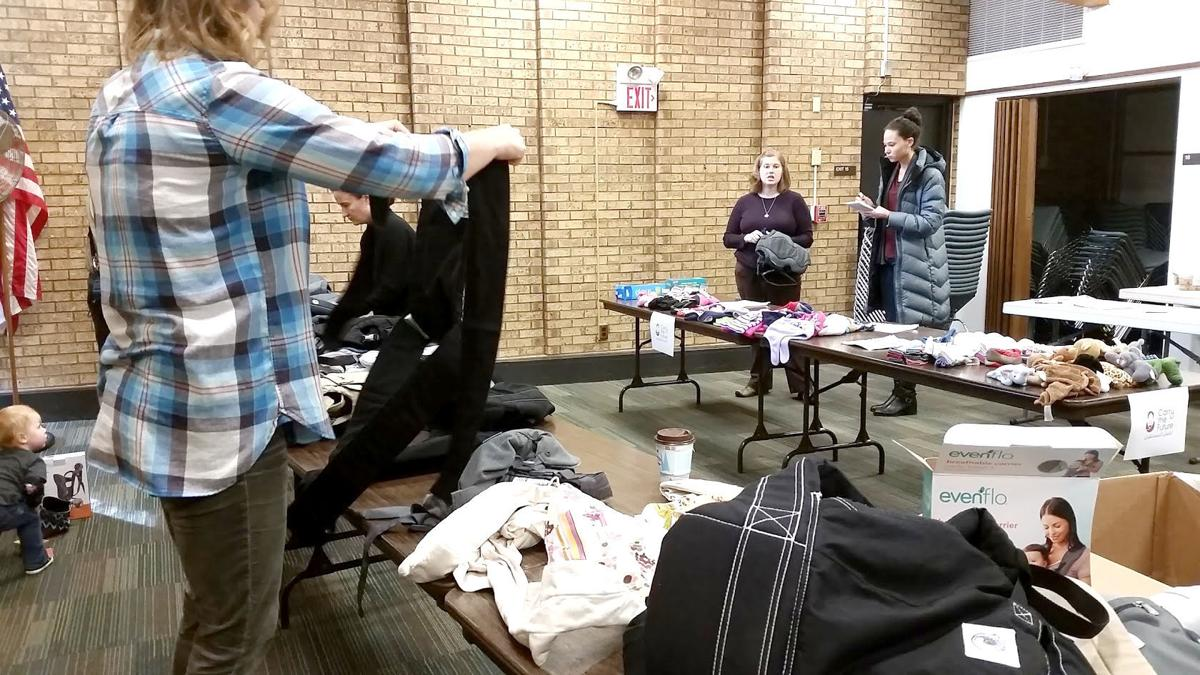 'Carry The Future' a regional effort to help collect baby carriers for refugees