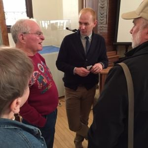 Ag historian speaks at Waseca History Center
