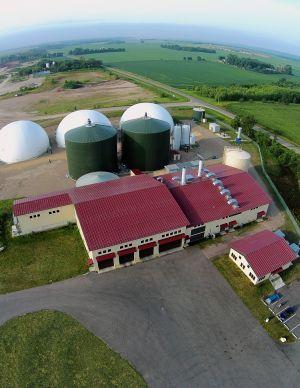 Hometown BioEnergy plant aerial