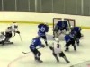 Hockey team involving Le Center players travels for playoffs