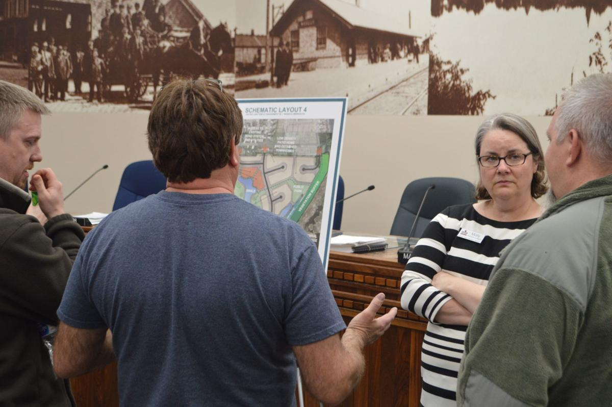 City presents four scenarios for possible Gaiter Lake development