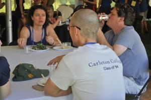 Carleton Reunion: classes of '94 and '99  luncheon