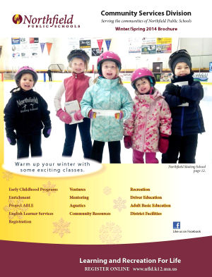 Northfield Community Services new brochure arrives in mail