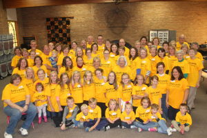 St. Peter Trinity Lutheran Church Participates in National Service Day