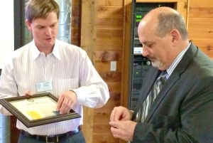 Superintendent is Waseca Rotary's newest member