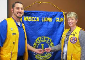 Waseca Lions Club receives excellence award